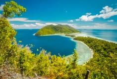 Schöne Kri-Insel lizenzfreie stockbilder