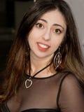 Schöne lächelnde Frau Lizenzfreie Stockfotografie