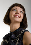 Schöne lächelnde Frauen lizenzfreies stockfoto