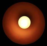 Schöne Lampe auf einem schwarzen Hintergrund Lizenzfreies Stockfoto