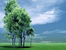 Schöne Landschaft Stockfoto