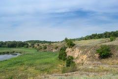 Schöne Landschaft Stockbild