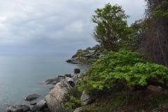 Schöne Landschaft am Affeberg Khao Takiab in Hua Hin, Thailand, Asien Lizenzfreies Stockbild