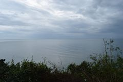 Schöne Landschaft am Affeberg Khao Takiab in Hua Hin, Thailand, Asien Lizenzfreie Stockfotografie