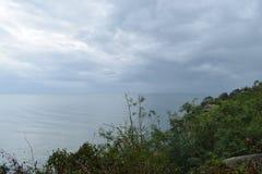 Schöne Landschaft am Affeberg Khao Takiab in Hua Hin, Thailand, Asien Stockbild