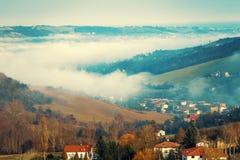 Schöne Landschaft in den Apennines-Bergen stockfoto