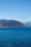 Schöne Landschaft der adriatisches Seeinseln Lizenzfreies Stockfoto