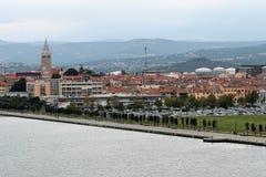 Schöne Landschaft der italienischen Provinz Lizenzfreies Stockfoto