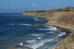 Schöne Landschaft der Palos Verdes Peninsula-Küste in Los Angeles, Kalifornien stockfotografie