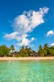 Schöne Landschaft der tropischen Insel Lizenzfreies Stockfoto
