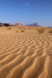 Schöne Landschaft der Wadi-Rum-Wüste. Jordanien. Stockbild