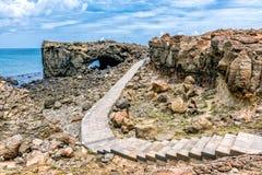 Schöne Landschaft der Wal-Höhle lizenzfreie stockfotografie