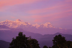 Schöne Landschaft im Himalaja Lizenzfreies Stockbild