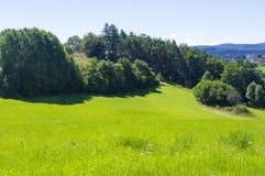 Schöne Landschaft im Land Stockfotos