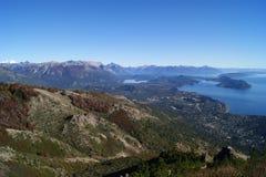 Schöne Landschaft im Patagonia Argentinien stockbild
