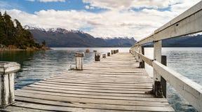 Schöne Landschaft im Patagonia, Argentinien Stockfotos