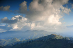 Schöne Landschaft im Winter bei Chiangmai Lizenzfreie Stockfotos