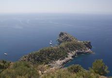 Schöne Landschaft in Majorca Stockfotos