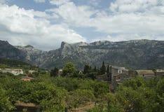Schöne Landschaft in Majorca Stockbild