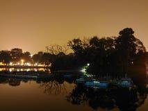 Schöne Landschaft nachts lizenzfreie stockfotografie