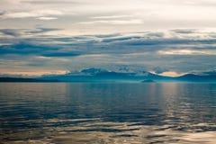 Schöne Landschaft in Neuseeland Stockbild