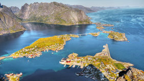 Schöne Landschaft, Reine, Lofoten Lizenzfreie Stockfotografie