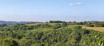 Schöne Landschaft in Slowenien Stockfotos