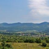 Schöne Landschaft in Slowenien Stockfotografie