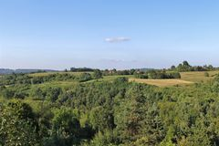 Schöne Landschaft in Slowenien Lizenzfreies Stockfoto