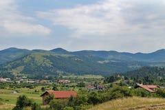 Schöne Landschaft in Slowenien Stockbilder