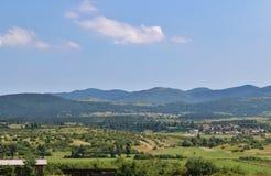 Schöne Landschaft in Slowenien Stockbild