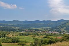 Schöne Landschaft in Slowenien Lizenzfreie Stockfotos