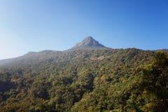 Schöne Landschaft Spitze der ` s Berg-Sri Pada Adam Spitze Sri Lanka Lizenzfreie Stockfotos