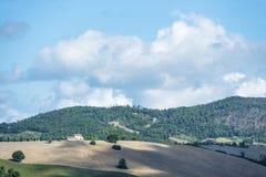 Schöne Landschaft Toskana Stockbild