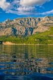 Schöne Landschaft Tucepi Lizenzfreie Stockbilder