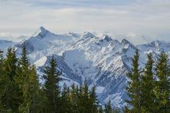 Schöne Landschaft von Alpen Stockbild
