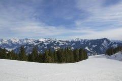 Schöne Landschaft von Alpen Lizenzfreie Stockbilder