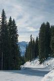 Schöne Landschaft von Alpen Lizenzfreie Stockfotos