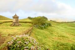 Schöne Landschaft von Azoren, Portugal lizenzfreie stockfotografie
