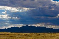 Schöne Landschaft von Bergen, Kasachstan, Ulytau Lizenzfreie Stockbilder