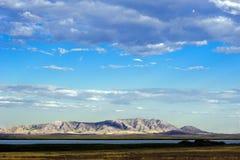 Schöne Landschaft von Bergen, Kasachstan, Ulytau Stockfotografie