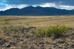 Schöne Landschaft von Bergen, Kasachstan, Ulytau Stockfotos
