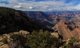 Schöne Landschaft von Grand Canyon von der Südkante, Arizona, Uni Lizenzfreies Stockfoto