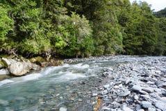 Schöne Landschaft von Hokitika-Schlucht in Neuseeland Stockfotografie