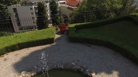 Schöne Landschaft von Italien stock video footage