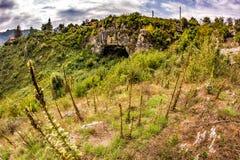 Schöne Landschaft von Natursteinbrücke Gott ` s Brücke Stockbild