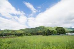 Schöne Landschaft von Takayama Stockfotos