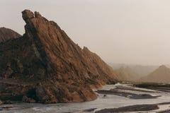 Schöne Landschaft in Xinjiang, China Stockbild