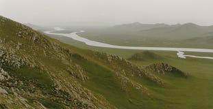 Schöne Landschaft in Xinjiang, China Lizenzfreies Stockbild
