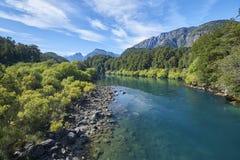 Schöne Landschaften bunt stockfotografie